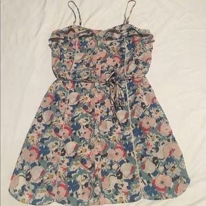 Kimchi Blue Button Down Floral Dress